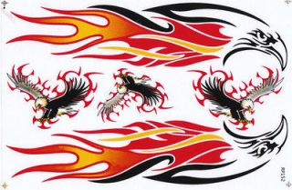 GP_T62 Eagle Hawk sticker decal motorcycle car bike racing scooter atv