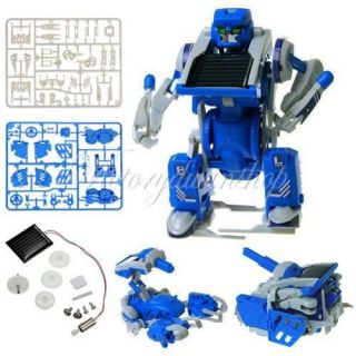 Power Manual Assemble DIY Educational Kit Tank Scorpion Robot Toy New