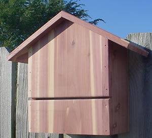 High Quality Handcrafted Small Cedar Bat House
