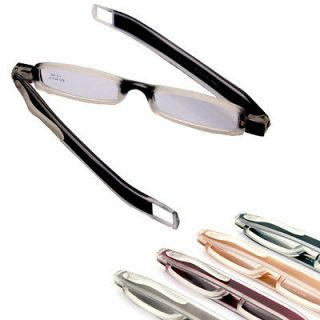 2012 New Folding Slim colorful mini Reading Glasses 4colors Selection