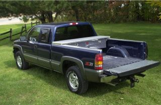Diamond Plate Truck Tool Box99 12 Ford Superduty
