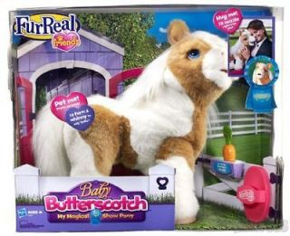 FURREAL FRIENDS BABY BUTTERSCOTCH MY MAGICAL SHOW PONY HASBRO FUR REAL