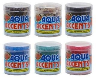 Aquarium Dk Pebbles Aqua Accents Betta Fish Tank Lot of 2 BA 1
