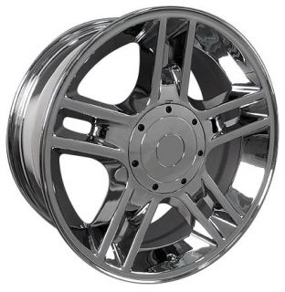 12 Ford F150 Harley Davidson Expedition Wheels 6 lug Rims Chrome 3410