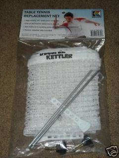 Kettler Brand Ping Pong / Table Tennis Replacement Net