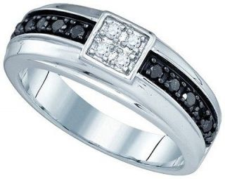 mens wedding bands white gold in Engagement & Wedding