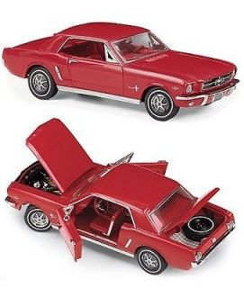 FRANKLIN MINT 1965 Ford Mustang 45th Anniversay in Red   Limited