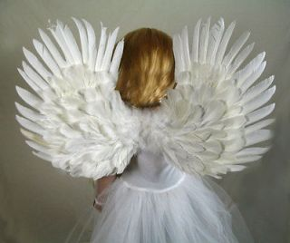 Angel Wings Halo Small Child Toddler Kids Halloween Fairy Costume