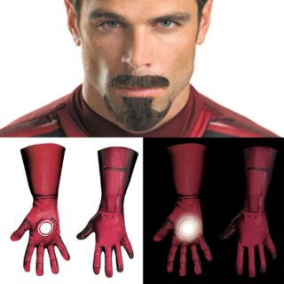 Avengers Iron Man Mark 7 Tony Stark Gloves Hair Costume Accessories