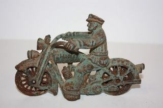 Harley Davidson Cast Iron Toy in Toys & Hobbies