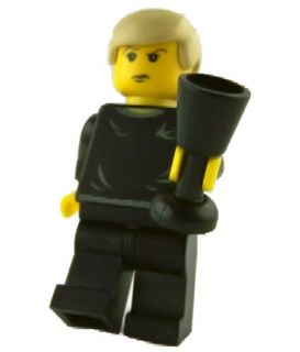 h056 LEGO Harry Potter Minifig Draco Black Sweater NEW