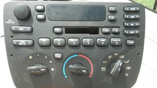 01 02 03 FORD TAURUS OEM RADIO RECEIVER CD TAPE PLAYER DASH UNIT 2F1T