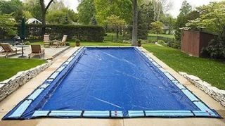 Winter Pool Cover Inground 16X32 Ft Rectangle Arctic Armor 8 Yr