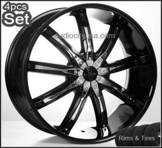 22 Wheels and tires PKG for Land Range Rover Camaro Rims
