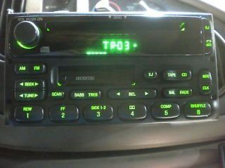 2001 2002 2003 2004 2005 2006 FORD ESCAPE OEM FACTORY RADIO CD PLAYER