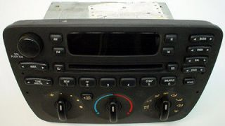 2004 2005 2006 2007 FORD TAURUS FACTORY OEM RADIO WITH CD PLAYER