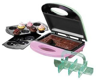 Electrics Mini Brownie Cookie Cupcake Bundt Cake Maker Non Stick NEW