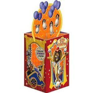 MADAGASCAR 3 The Circus~ PARTY CENTERPIECE ~Birthday Party Supplies