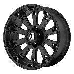 18 Inch Black Wheels Rims Jeep Wrangler JK 2008 2012 Chevy Truck
