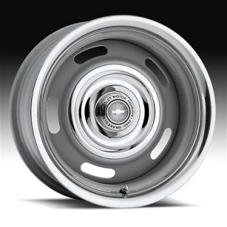 Wheel 55 Series Silver Rallye Wheel 15x10 5x4.75 BC Set of 2