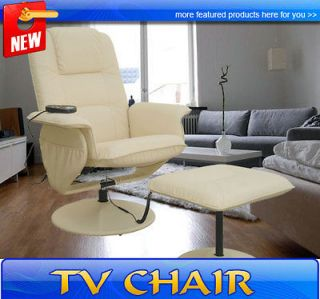 Recliner Office TV Massage Chair Vibrating With Ottoman CHRISTMAS