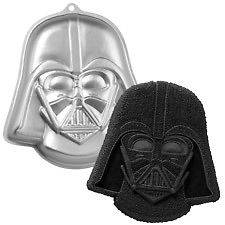 Star Wars Darth Vader Cake Pan Bake by Wilton NEW