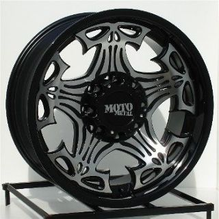 17 inch Black Wheels/Rims Chevy Dodge Ram HD 2500 Truck
