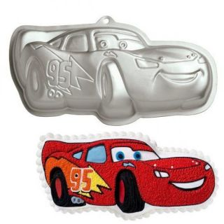 CARS LIGHTNING McQUEEN Wilton Cake Tin Pan Mould official Pixar NEW