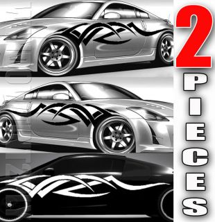 Pieces Body Graphics Stickers Decal Vinyl Car Truck HONDA CIVIC 2P03