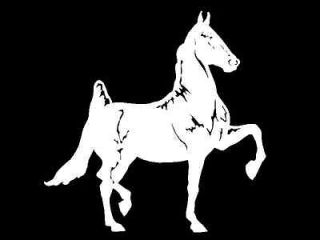 American Saddlebred Horse horses car truck window trailer decal