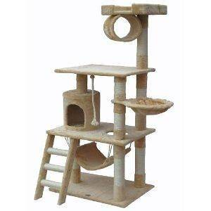 Cat Tree House Toy Bed Scratcher Post Furniture F67