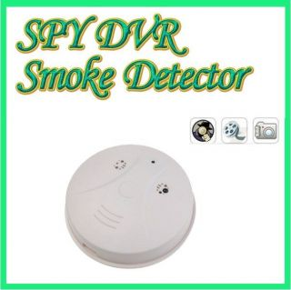 SPY Dvr SMOKE DETECTOR Surveillance hidden camera NANNY CAM security