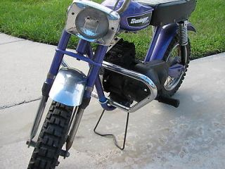 Vintage mini bike minicycle crashbar, fits Rupp, auranthetic, fox