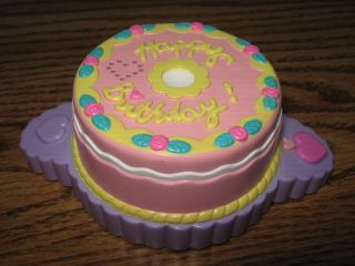 G3 My Little Pony MUSICAL CAKE birthday celebration razzaroo accessory