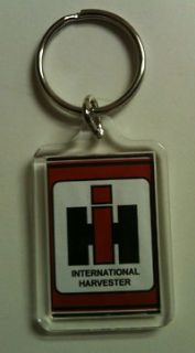 INTERNATIONAL HARVESTER vintage tractor REPRO keychain