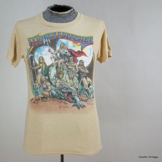 Vtg 80s Original MOLLY HATCHET Boris Valejo 1981 Concert Tour t shirt