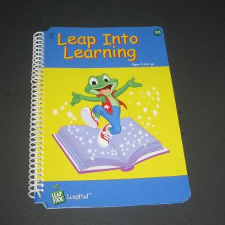 Leap Frog LeapPad Leap Into Learning Book Vocabulary Development