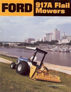 Equipment Brochure   Ford   917A   Flail Mowers   Lawn Turf