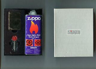 Zippo Lighter, Fluid & Flint dispenser