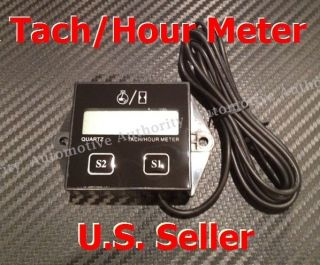 Digital RPM Tach/Hour Meter For 2 Stroke & 4 stroke Engines