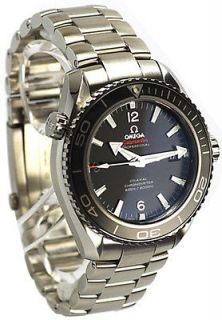 01.001 ►► NEW OMEGA SEAMASTER PLANET OCEAN CHRONOGRAPH MENS WATCH