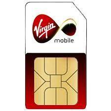 VIRGIN PAY AS YOU GO STANDARD SIM CARD NEW FOR UK MOBILE PHONES