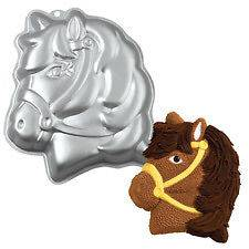 NEW WILTON PARTY PONY CAKE PAN 2105 1011