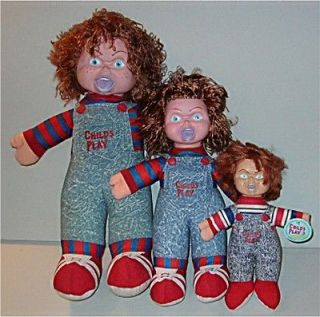 Vintage Versions 12 18 24 CHILDS PLAY Scary CHUCKY Doll