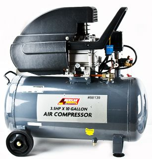 Tank Hot Dog Pneumatic Portable Air Compressor 3.5hp motor 125 psi