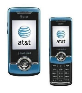 Samsung SGH A777   3G Slider Blue (Unlocked) GPS, Camera, Cellular