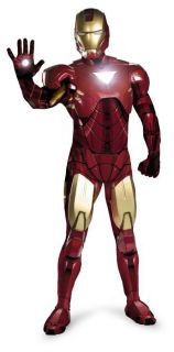 IRON MAN MARK VI SUPER DELUXE ADULT RENTAL QUALITY COSTUME LICENSED