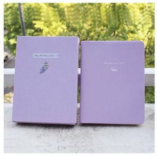New MayMe Diary/Daily planner for 2013 year Violet + 2013 Calendar + 3
