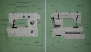 Montgomery Ward UHT J 1414 Sewing Machine Manual On CD