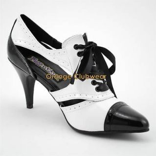 Sexy 4 High Heel Spectator Pumps Womens Costume Shoes